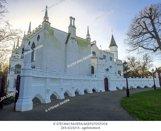 Strawberry Hill House in Twickenham - London, England