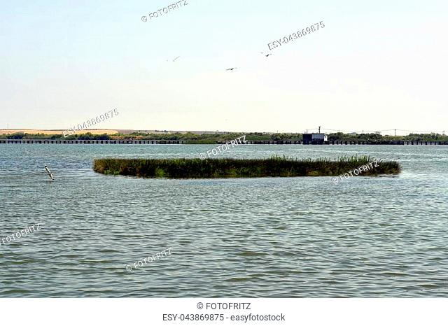 Greece, Porto Lagos, Vistonida lake