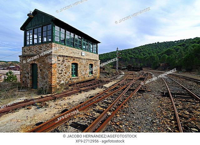 Cabin levers.Old raiway.Riotinto Mines.Huelva province.Andalusia.Spain