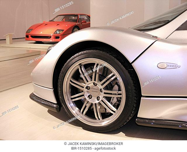 Pagani Zonda, Mitomacchina exhibition, Museum of Modern Art, MART, Rovereto, Italy, Europe