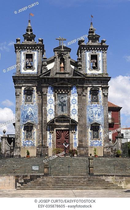 San Indefonso church, Oporto, Portugal