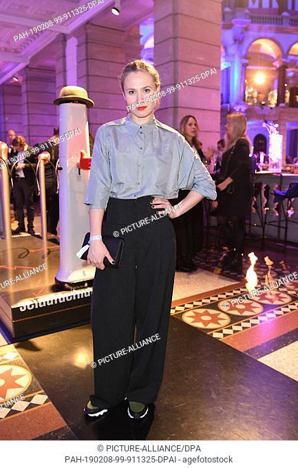 "08 February 2019, Berlin: 69th Berlinale: Alina Levshin during the ARD party """"Blue Hour"""". Photo: Britta Pedersen/dpa. - Berlin/Berlin/Germany"