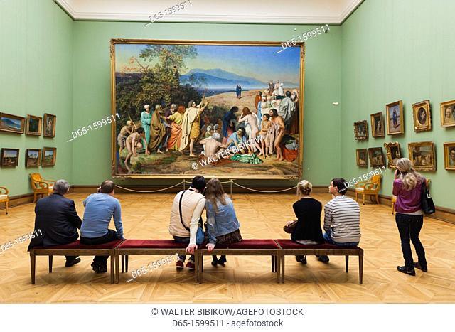 Russia, Moscow Oblast, Moscow, Zamoskvorechiye-area, Tretyakov Art Gallery, interior gallery, NR
