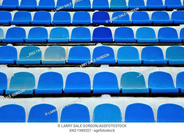 Blue Seats - Swim Stadium. Vladivostok. Russia