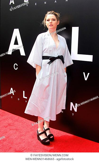 Sir Ridley Scott Hand and Footprint Ceremony Featuring: Amy Seimetz Where: Hollywood, California, United States When: 18 May 2017 Credit: FayesVision/WENN