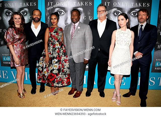 Premiere of HBO Films' 'Confirmation' at Paramount Theater - Arrivals Featuring: Alison Wright, Jeffrey Wright, Kerry Washington, Wendell Pierce