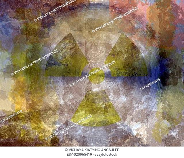grunge circular metal texture background