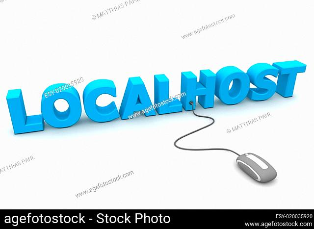 Browse the Localhost - Grey Mouse