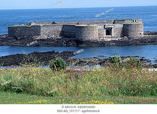 Fort Houmet Herbe Alderney Channel Islands Great Britain