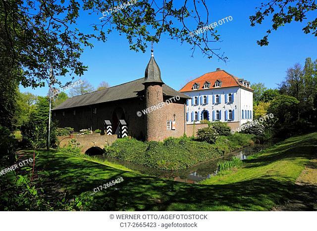 Germany, Nettetal, Maas-Schwalm-Nette Nature Park, Schwalm-Nette Nature Park, Lower Rhine, Rhineland, North Rhine-Westphalia, NRW, Nettetal-Breyell