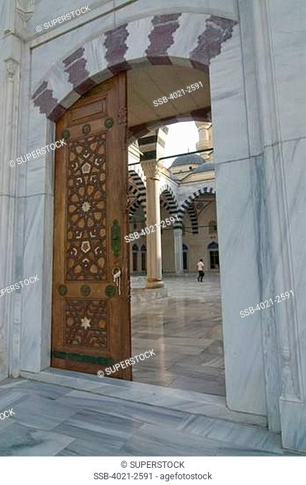Turkmenistan, Ashgabad, Azadi Mosque