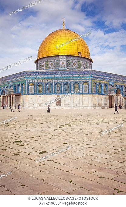 Dome of the Rock, Temple Mount (Har Ha Bayit), Jerusalem, Israel