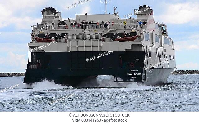 The catamaran ferry Villum Clausen
