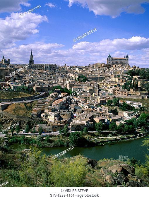 City, Europe, Holiday, Landmark, Spain, Europe, Toledo, Tourism, Travel, Vacation