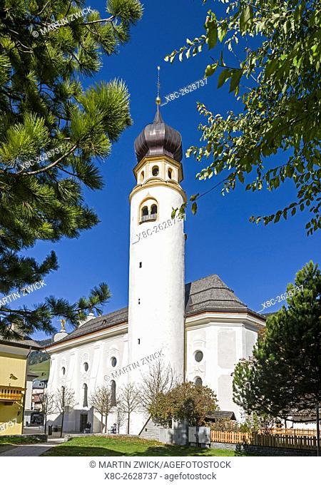 The parish curch of St. Michael - Chiesa Parrocchiale di San Michele, Innichen - San Candido in the Puster Valley - Val Pusteria