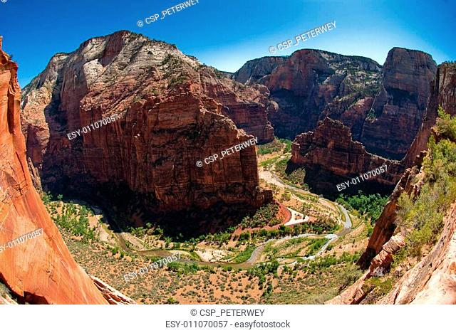 big bend in zion national park