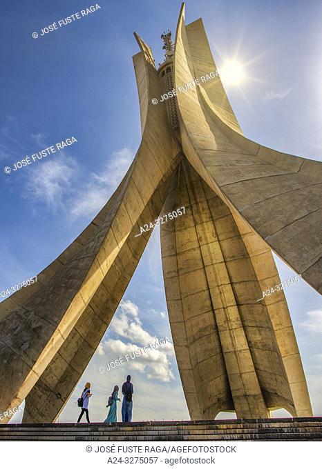 Algeria, Argel City, Martyrs Monument , Memorial, Makam El Chahid