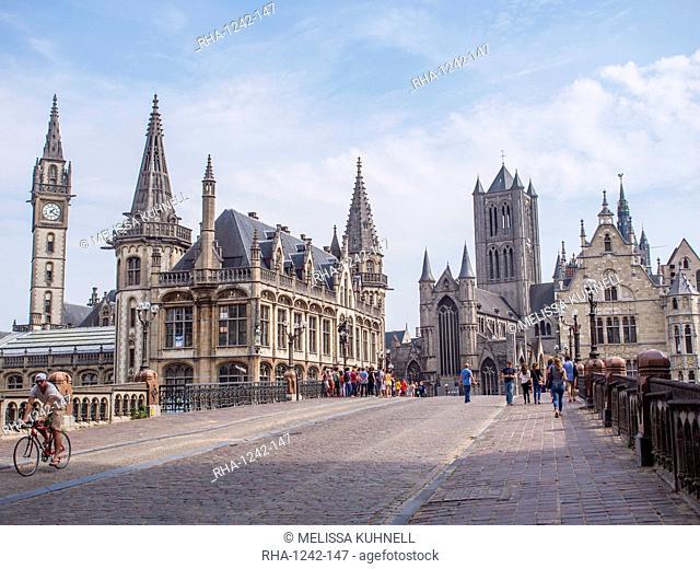 Ghent, Belgium, Europe