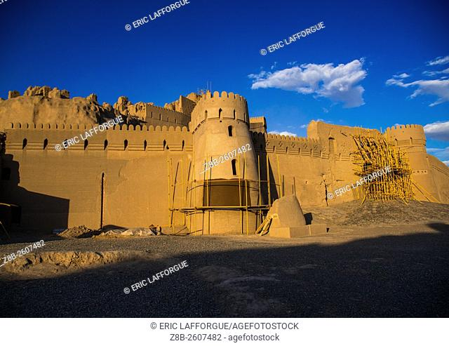 Iran, Kerman Province, Bam, the old citadel of arg-é bam