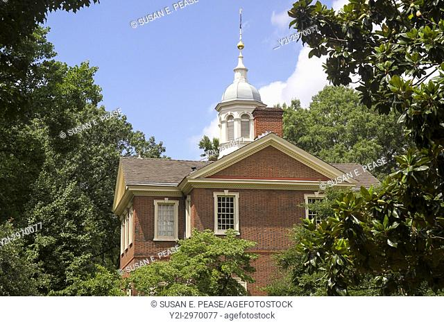 Carpenters' Hall, Independence National HIstoric Park, Philadelphia, Pennsylvania, United States
