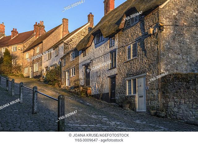 Shaftesbury, Gold Hill, Dorset, England, United Kingdom