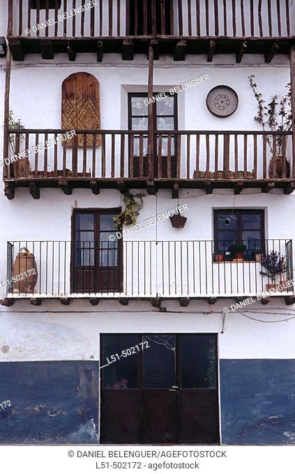 Traditional house. Morella. Els Ports. Castellon. Spain