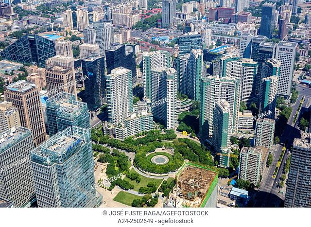 China, Beijin City, Guomao District
