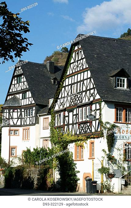 Traben-Trarbach. Rhineland-Pallatinate. Germany