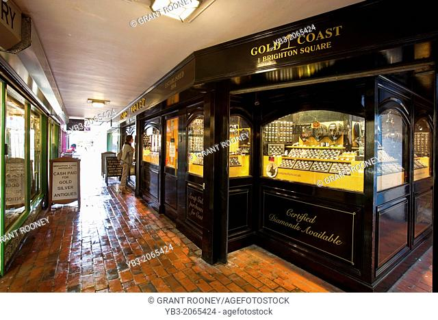 Jewellery Shop, The Lanes, Brighton, Sussex, England