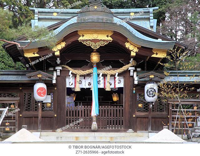 Japan; Kyoto, Hachidai-jinja Shrine,