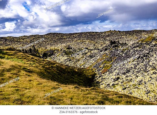 Lava fields of Snæfellsnes in West-Iceland