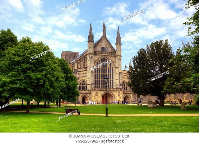 Winchester Cathedral, Winchester, Hampshire, England, United Kingdom