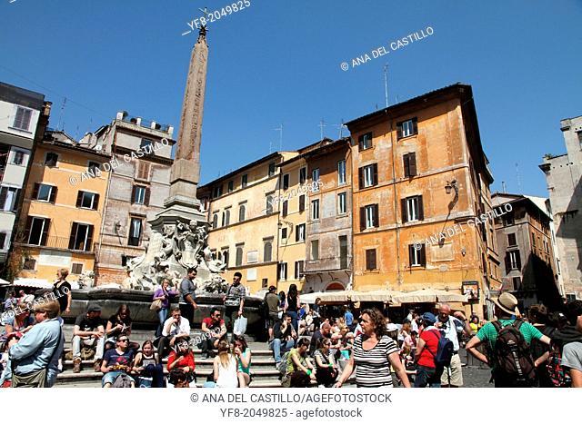 Rotonda square Pantheon Rome