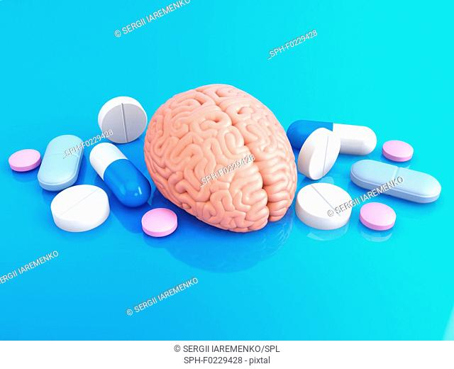 Brain Enhancing Drugs Stock Photos And Images Age Fotostock