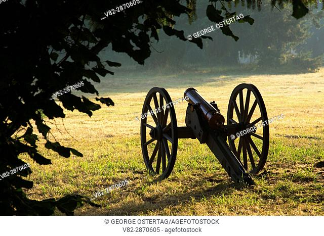 Cannon, Civil War Re-enactment, Willamette Mission State Park, Oregon