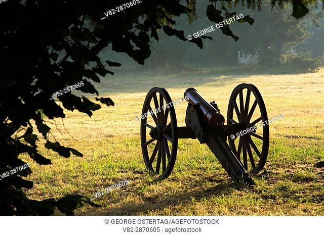 Cannon, Civil War Re-enactment, Willamette Mission State Park, Oregon