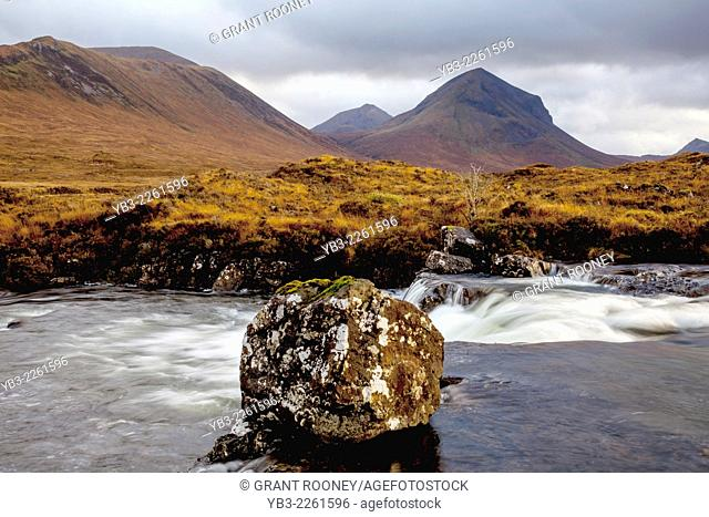 Mountain Scenery, Isle of Skye, Scotland