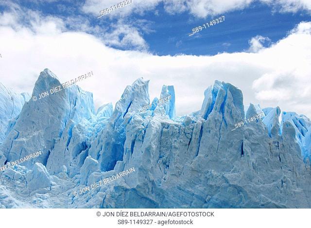 Front of the glacier Perito Moreno Argentina