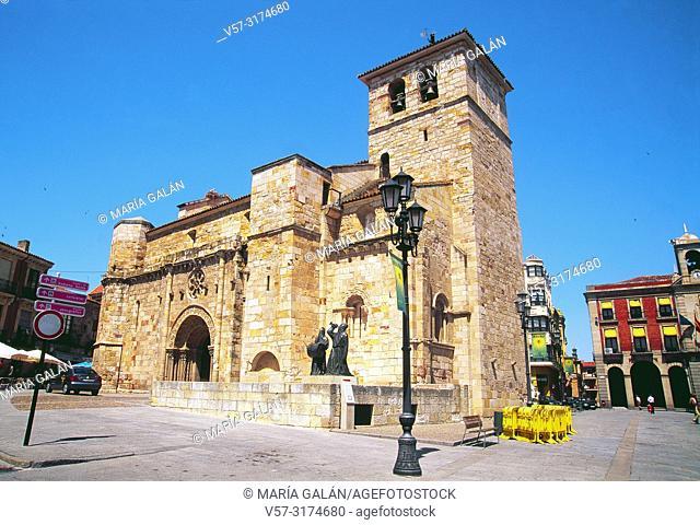 San Juan de Puerta Nueva church. Zamora, Spain