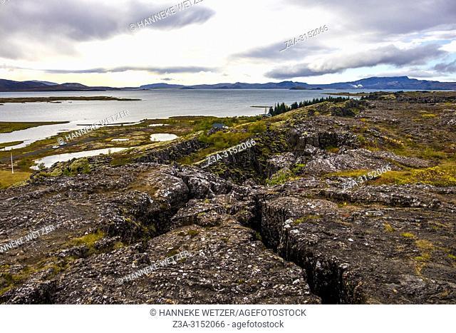 Nature of Þingvellir National Park, Southwest Iceland