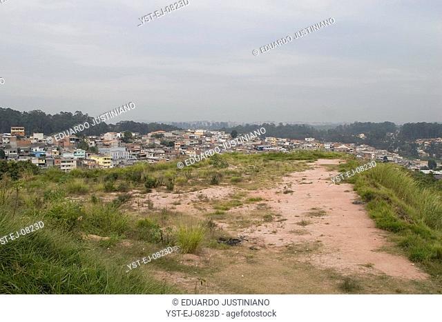 Neighborhood of Guavirutuba, Guarapiranga Spring, São Paulo, Brazil