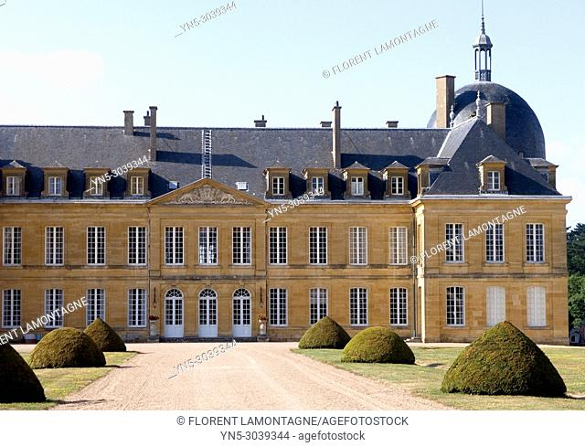 Digoine's castle, Château of Digoine in  Palinges in region of Burgundy, in the Saône and Loire's department