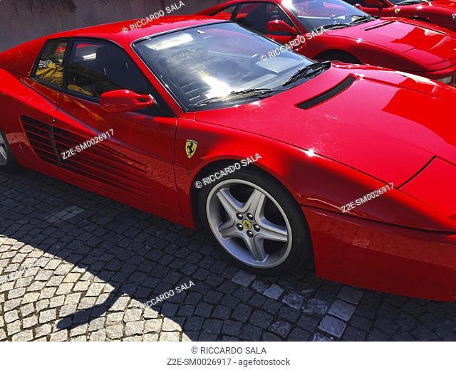 Ferrari Cars Parked. . .