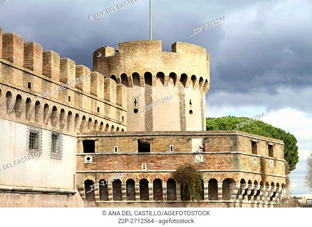 Saint Angel castle Rome, Italy
