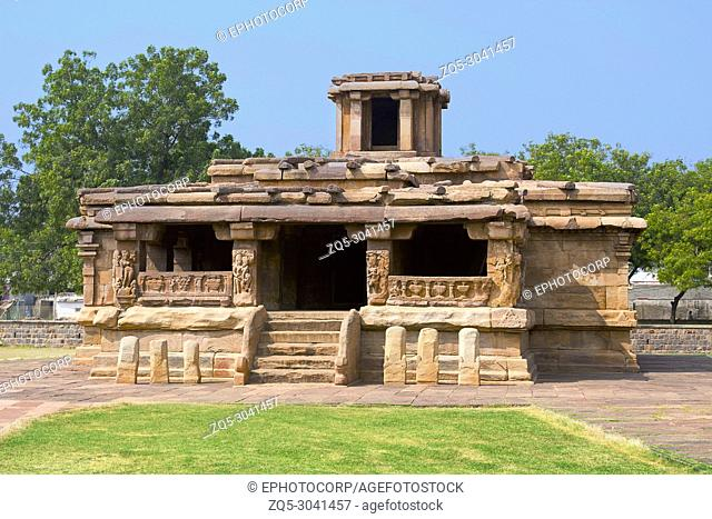 Ladkhan temple, Aihole, Karnataka, India. 7th century