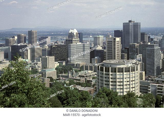 downtown, montreal, canada
