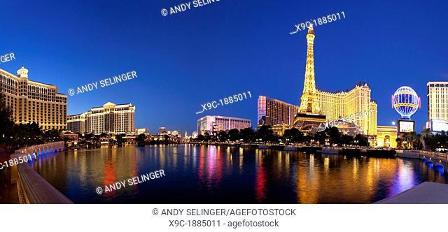 Las Vegas Skyline at Night, Las Vegas