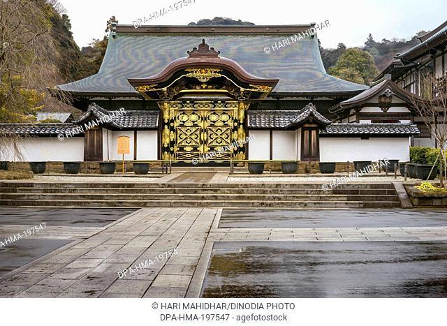 Kencho ji temple, kamakura, japan