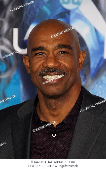 """Michael Beach 12/12/2018 """"""""Aquaman"""""""" Premiere held at the TCL Chinese Theatre in Hollywood, CA Photo by Kazuki Hirata / HNW / PictureLux"""