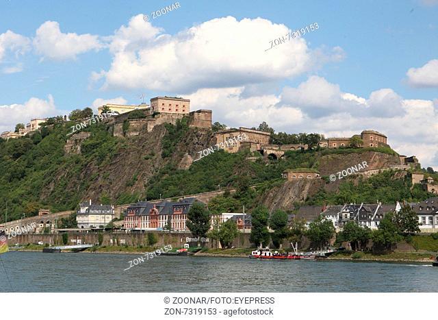 Koblenz Fortress Ehrenbreitstein